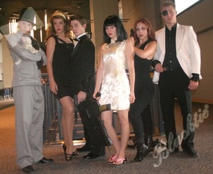 Dresses for casino royale theme party