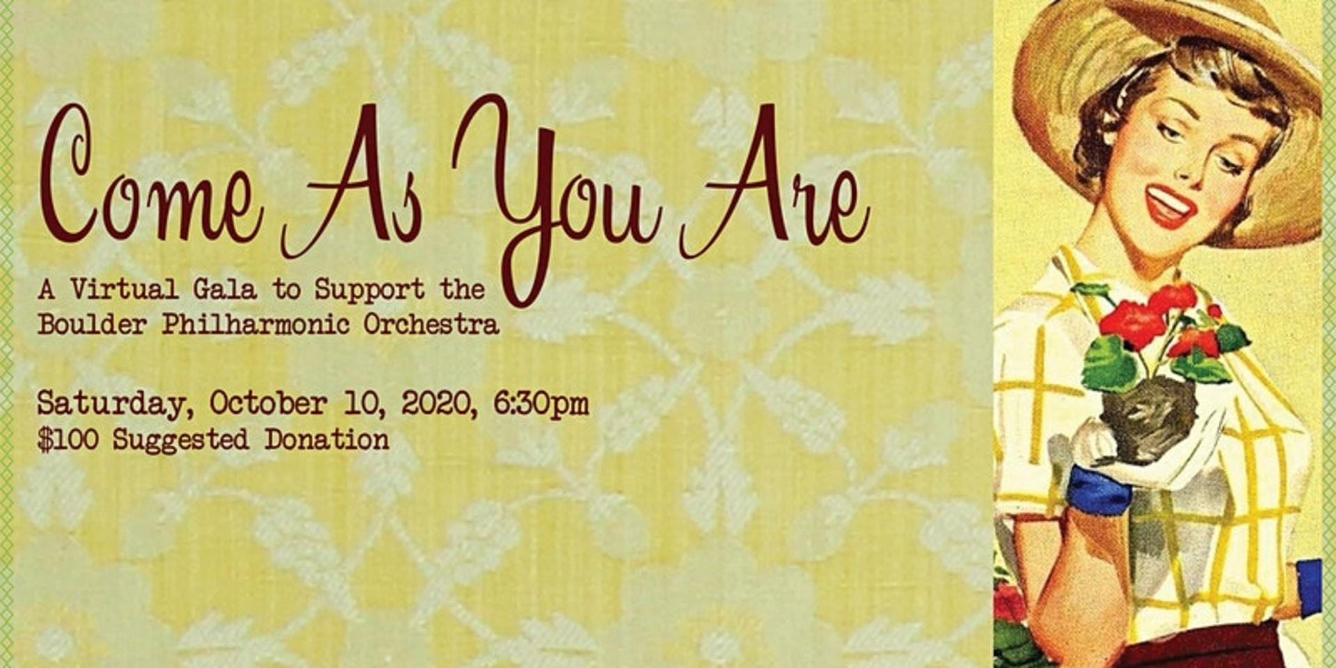 Boulder Philharmonic Orchestra\'s Come As You Are