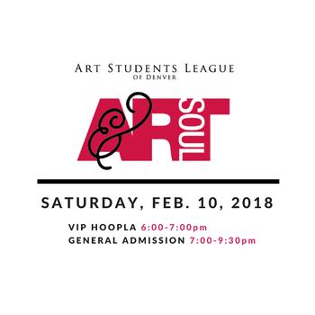Art Students League of Denver presents Art & Soul