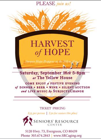 SRC Harvest of Hope