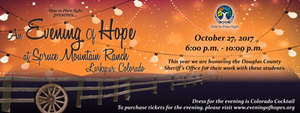 Evening of Hope, visit our website at www.hideplainsight.org for info on our mission