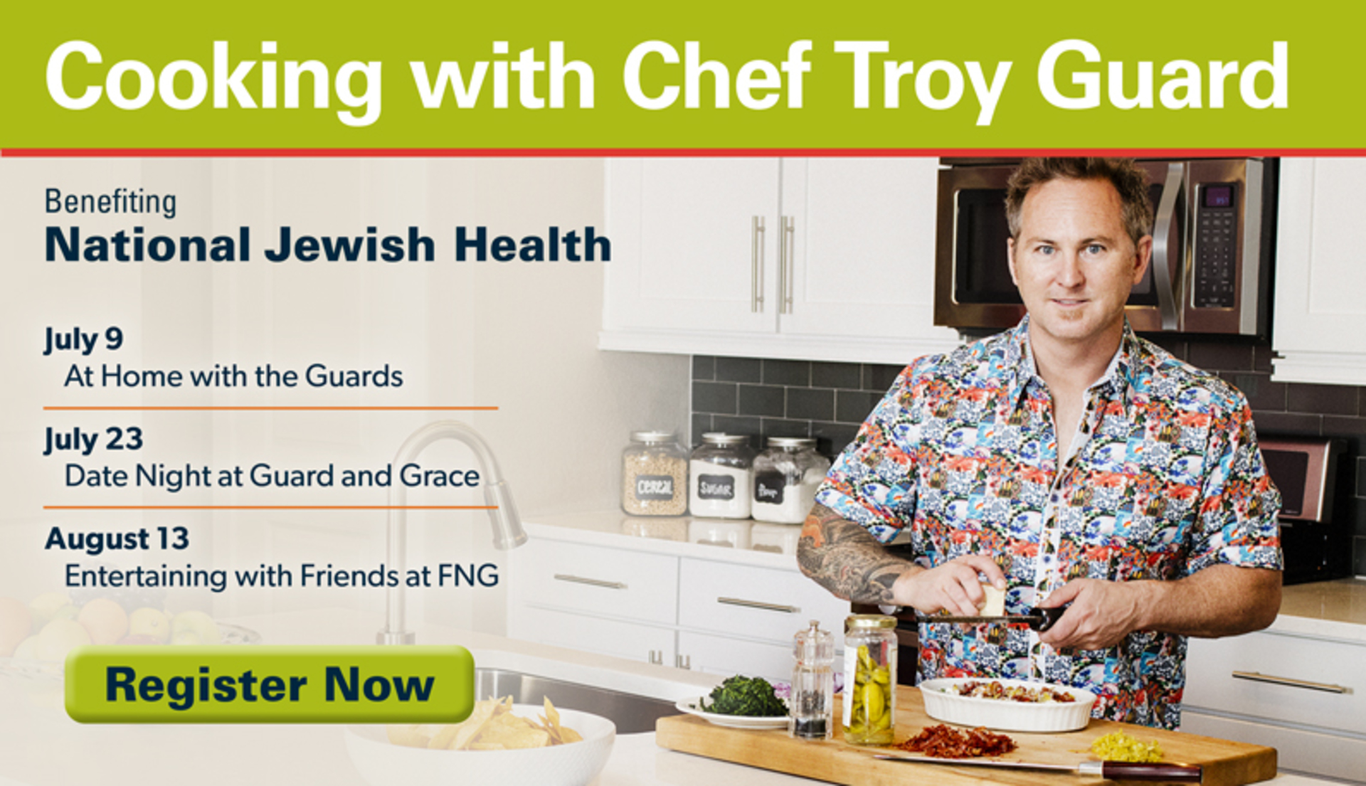 Cooking with Chef Troy Guard