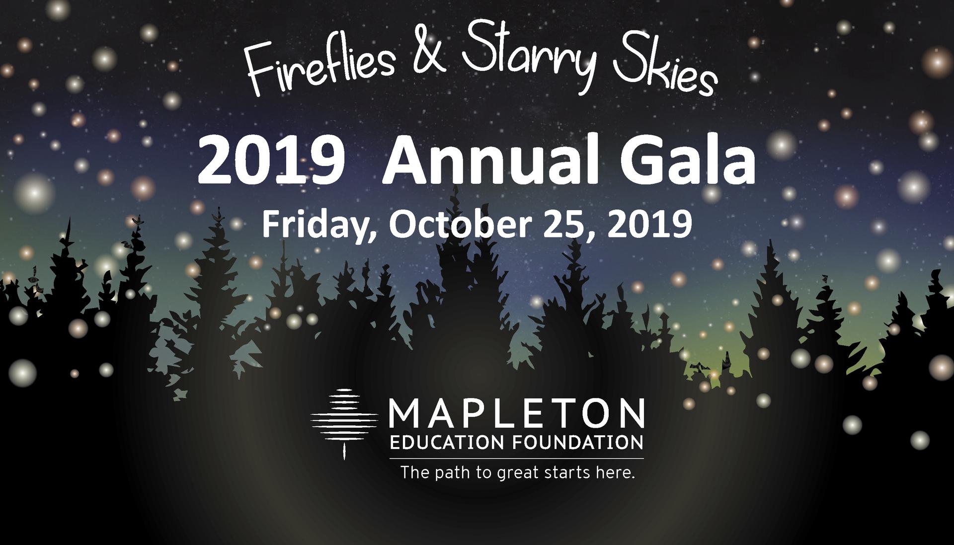 15th Annual Mapleton Education Foundation Gala