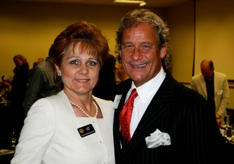 Cindy Acree with Doug Tisdale