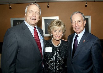 Denver Governor Bill Ritter (left) with DSF co-chair Arlene Hirschfeld and NYC Mayor Michael Bloomberg
