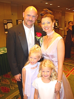 Jay Leeuwenburg and his family, were one of the six