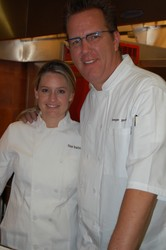 Lisa Bailey and Chef Keegan Gerhard