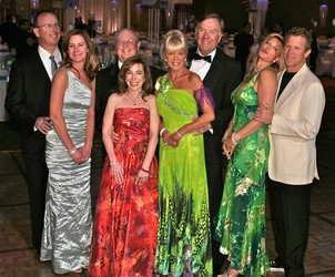 2011 Grand Marshals: the Wylies, Thompsons, Schierburgs and Morgridges