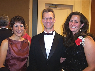 Anne Stowers, David Mckenzie and ER doctor Diane Barta, who is also the Medical Director for Porter Hospital