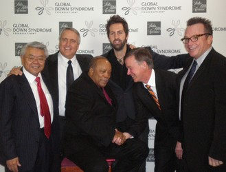John J. Sie, Governor Bill RItter, Quincy Jones, Josh Kelley, Mayor John Hickenlooper and Tom Arnold