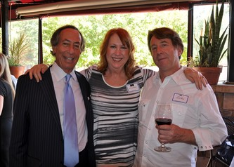 Steve Farber, Penny Parker and Steve Weil at the Blacktie Welcome Party