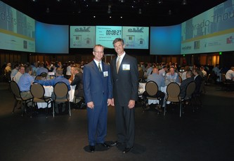 Founders Greg Greenwood and Bob Neuman at the Colorado Thought Leaders Forum