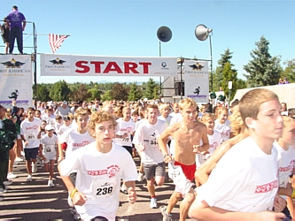 Over 1,500 participants take part in the 4th Annual First American State Bank Fitness Festival