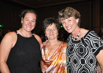 Darla Shaffer, founder Shari Shink and Kelli Trudel
