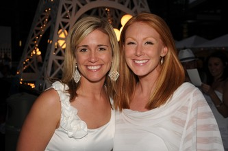 Co-Chairs Shana Briggs, left, with Krista Gilbertson