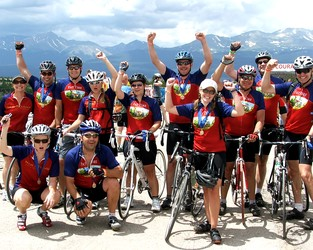 July 28, 2008 Riding the Rockies with The Children's Hospital