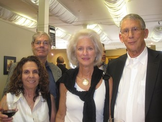Evelyn Wolf, Roger Day, Patti & Mike Blackman
