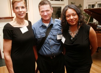 Mary Putman, left, Mark Mesaros, Larynda Jackson