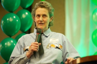 Guests were treated to a talk by world renown animal sciences professor, Dr. Temple Grandin