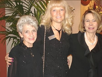 Co-chair Ginny Messina, left, with CNI Executive Director Luanne Williams and event chair Kathy Judd