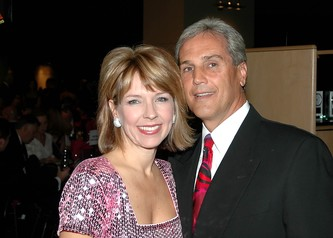9 News Anchor, emcee and chair Kim Christiansen and her husband Greg Feith