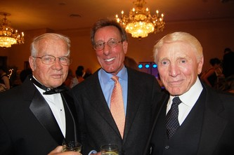 Founder Dr. Bill Suro, left, Mark Palmer and Dr. Peter Emily