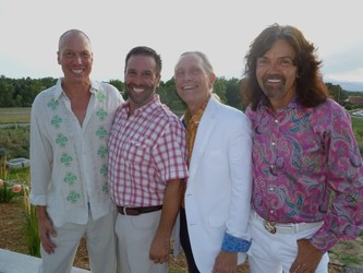 Salt on the Rim co-chairs (l to r): Paul Heitzenrater, John Farnam, Lawrence French and Gregory Sargowicki