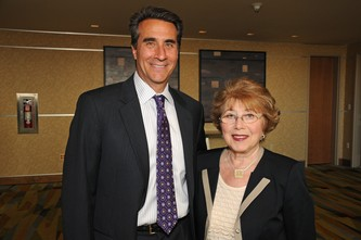 Board Chair Alan Mayer and CEO Yana Vishnitsky