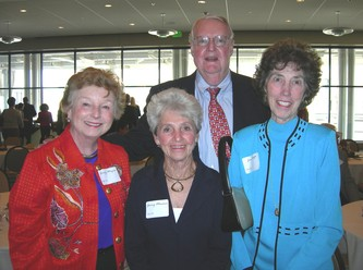 Ginny Mayers, left, Ginny Messina, Dick & Jean Watt