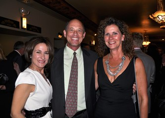 Evelinda & Frank Urman with Dr. Cindy Kelly at the Limb Preservation Foundations Laughs to Save Limbs  and Lives