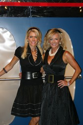 Gala co-chairs, Pamela Helm, left, and Bonnie Mandarich put on one terrific party