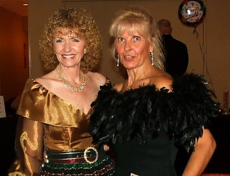 Co-Chairs Marty Pickert, left, and Susan Martin