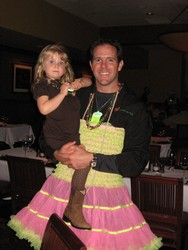 She wanted former NFL QB Brian Griese in a pink tutu and he couldn't say no.