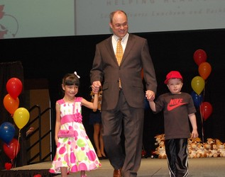April 03, 2011 The Children's Hospital Hosts Little Hearts Fashion Show