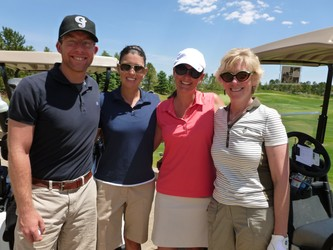 Zach Dougherty, Katie Boland, Becky Worrell and Andrea Levine