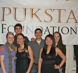 Puksta scholars and future community leaders