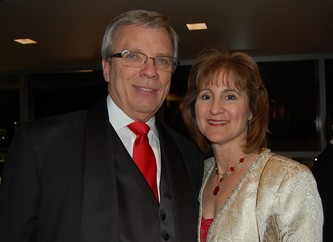 Event chairs Dick and Robin Kelly