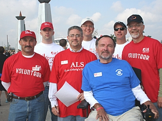 ALS Board of Directors: Robb Beckerdite, Tom Carley, Pat Bailey, Marty Skolnick, Brian Cook (president), David Shouse, and Kent Mathews