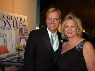Christopher Walker and Cindy Nelson co-host the Howard Dental Bingo Ball