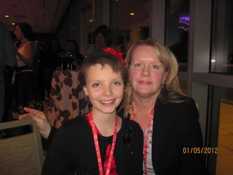 12-year-old Grace Petroff and mother, Karen