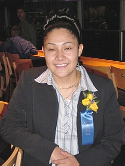 Congratulations Angel Gutierrez, 2005 Youth of the Year.