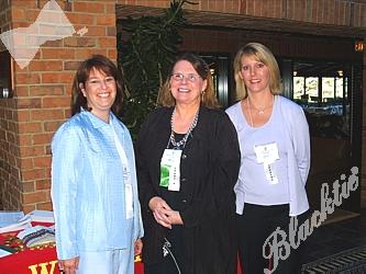 Barbara Cole, V.P. Trust Team Leader for Investment Management & Trust, left, Peggy Toal, V.P. for Investment Management & Trust, and Lisa Roberts, SVP and Sr. Regional Trust Manager for Investment Management & Trust Wells Fargo Bank