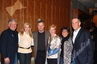 Steve and Faye Demby, left, Eric and Sara Resnick and Margie and Tom Gart