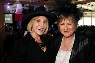 Jackie Rotole, left, with Susan Stiff