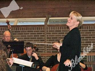 Music Director Amy Andersson in her element