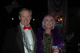 Richard Mitchell and Patti Carpenter.