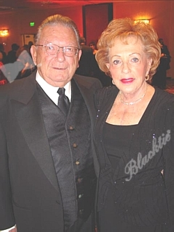 Honorary Chair Elaine Wolf with Dick Tucker