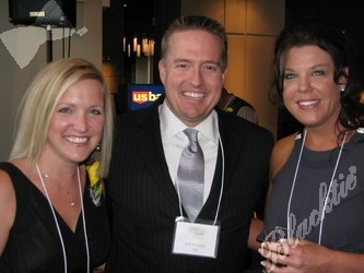 Team Media Sponsor Denver Life Magazine: Kristin Miller, left, Jeff Bowers and Kalynne Howell