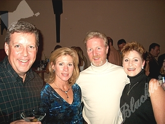 Peter and Cathy Culshaw, left, pose with Tim and Deborah Hester.  Peter is on the board of the Children's Hospital Foundation and is the founder of the Martini Miracle Ball.