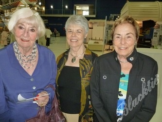 (l to r): Helga Ragsdale, Elizabeth Steele and Betty Brightwell